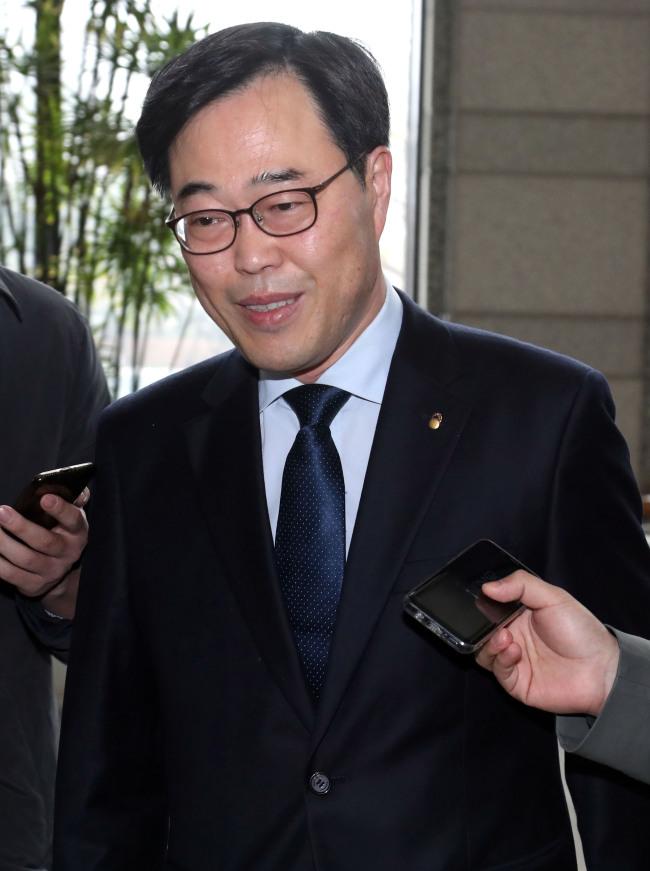 Financial Supervisory Service Gov. Kim Ki-sik (Yonhap)