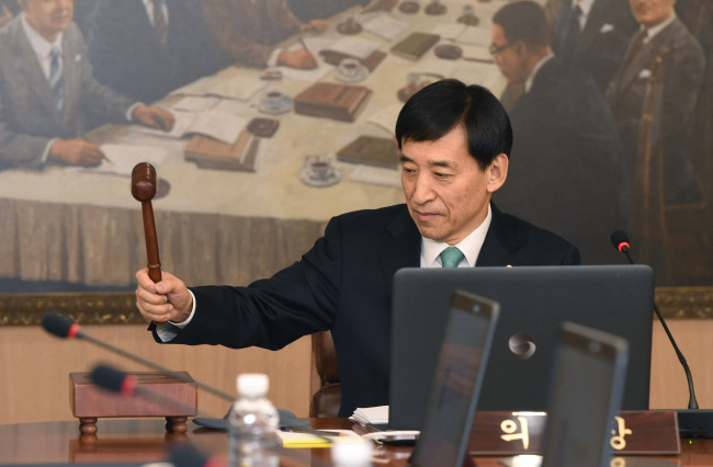BOK Governor Lee Ju-yeol (Yonhap)