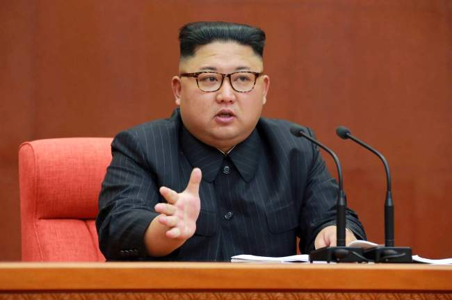 North Korean leader Kim Jong-un (AP)