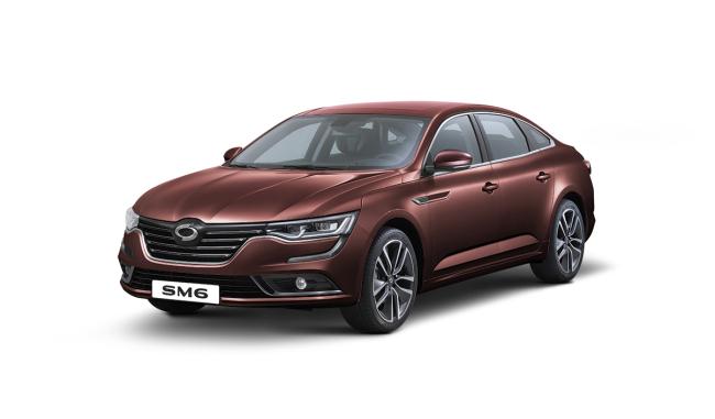Renault Samsung Motor's 2019 model year SM6 midsize sedan (Renault Samsung Motor)