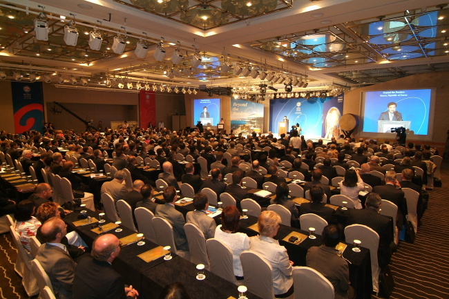 The Mint Directors Conference held in Seoul in 2008 (Komsco)