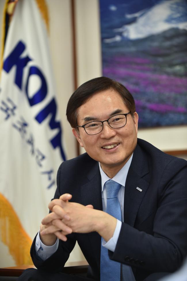 Komsco CEO Cho Yong-man (Komsco)