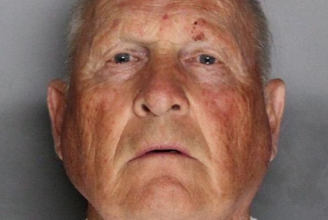 Joseph James Deangelo, 72 appears in a booking photo provided by the Sacramento County Sheriff`s Department, April 25, 2018. (Reuters)