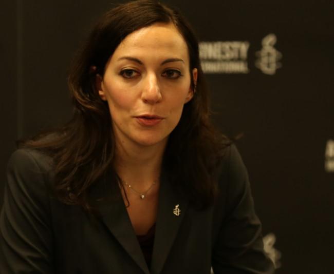 Chiara Sangiorgio (Courtesy of Amnesty International)