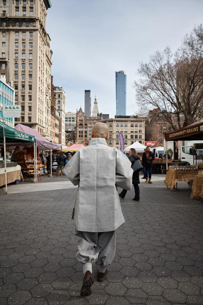 Wookwan at Union Square Greenmarket in New York (Moon Duk-gwan / Wookwan)