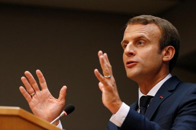 French President Emmanuel Macron (Reuters)