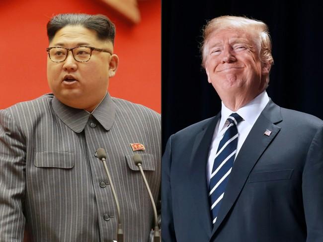 North Koraen leader Kim Jong-un and US President Donald Trump. Yonhap