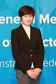 Former Olympic champion Hyun Jung-hwa (Photo courtesy of the Korea Table Tennis Association-Yonhap)