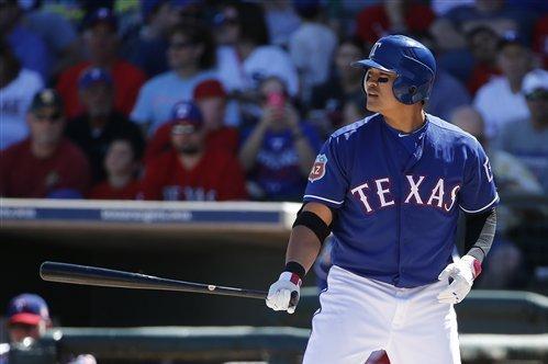 Texas Rangers outfielder Choo Shin-soo (AP)
