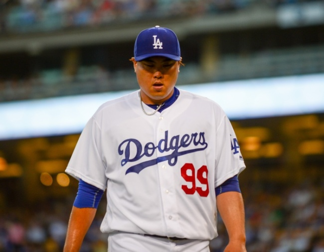 Los Angeles Dodgers` South Korean starter Ryu Hyun-jin (Yonhap)