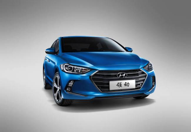 Hyundai Motor's topselling China-exclusive Lingdong mid-compact car ranked No.1 in sales by model last month. (Hyundai Motor)