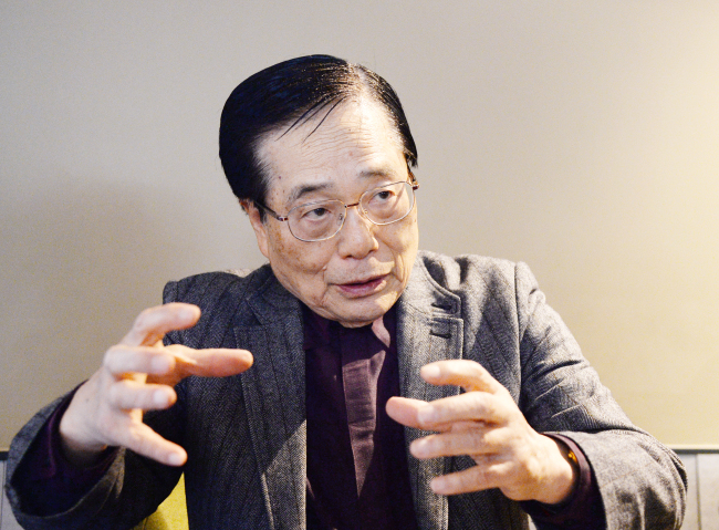 Yun Ik-han, senior advisor of the Korea Journalists Club (Park Hyun-koo/The Korea Herald)