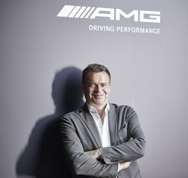 Tobias Moers, chairman of the board of management of Mercedes-AMG (Mercedes-AMG)