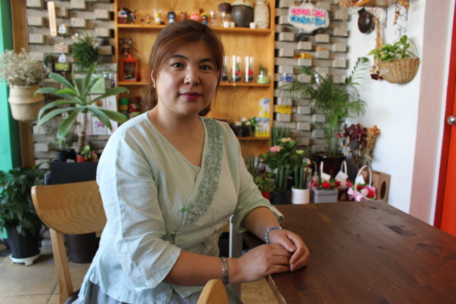 Wang Kena (Jo He-rim/The Korea Herald)