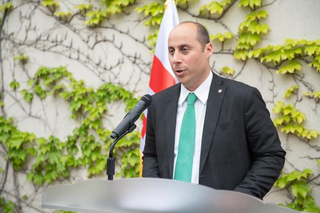 Georgian Ambassador to Korea Otar Berdzenishvili (Georgian Embassy)