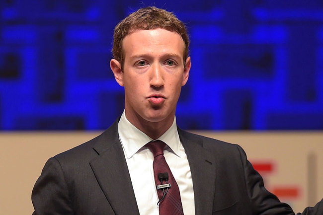 Facebook chief Mark Zuckerberg (AFP)