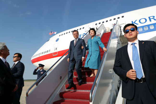 South Korean President Moon arrives in DC for meetings amid concerns over North Korea summit (koreaherald.com)