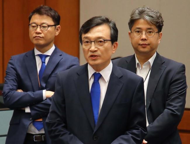 Presidential office spokesman Kim Eui-kyeom (Yonhap)
