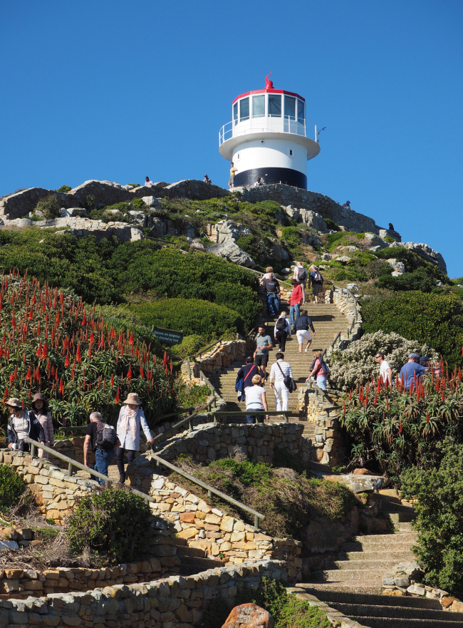 The Cape of Good Hope's Old Lighthouse (Joel Lee/The Korea Herald)