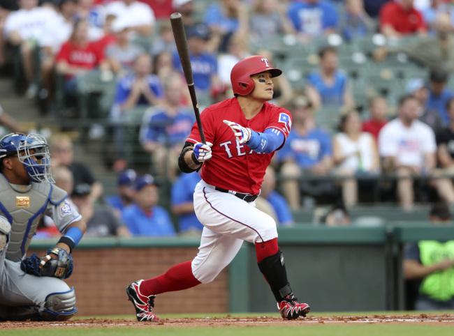 Choo Shin-soo of the Texas Rangers (Yonhap)