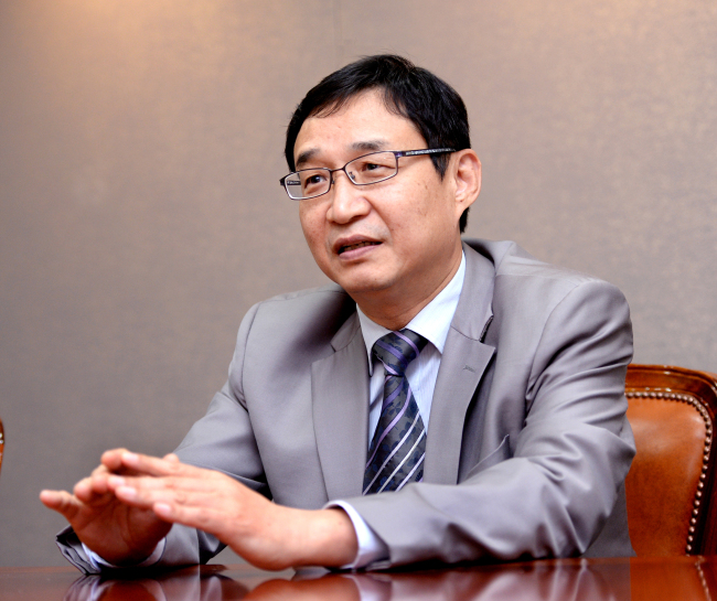 Lee Seung-yong, vice president of the Korea Patent Attorneys Association and senior patent attorney at Lee, Mock & Partners. (Park Hyun-koo/The Korea Herald)