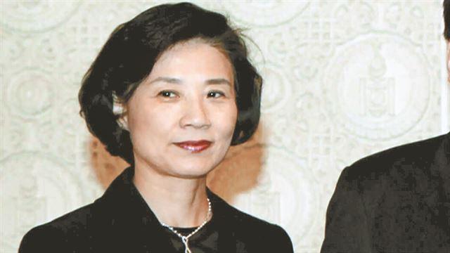 Lee Myung-hee, wife of Korean Air Chairman Cho Yang-ho. (Yonhap)