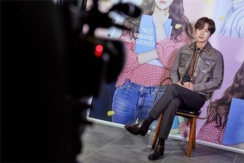 The photo, provided by Mountain Movement, shows South Korean actor Park Hae-jin. (Yonhap)