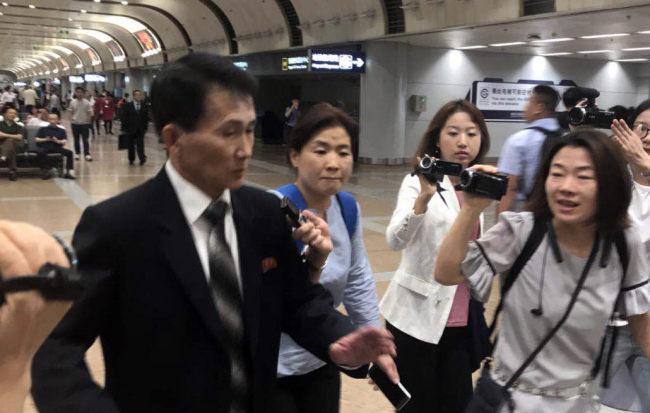 North Korean diplomat Choe Kang Il (Yonhap)