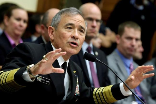 Pacific Command chief Adm. Harry Harris. Reuters