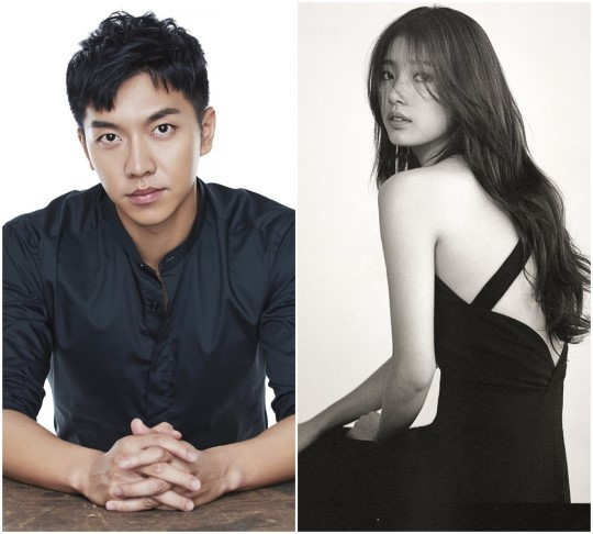 Lee Seung-gi (left) and Suzy (Hook Entertainment and JYP Entertainment)