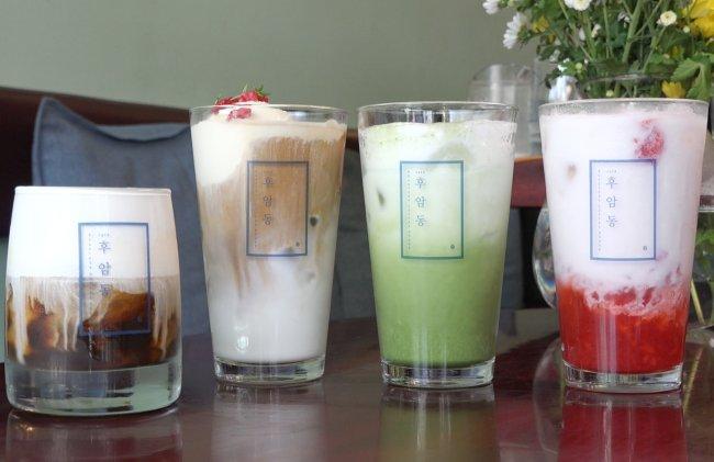 Iced drinks (Rumy Doo/The Korea Herald)