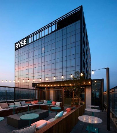 RYSE from rooftop bar Side Note Club (RYSE)