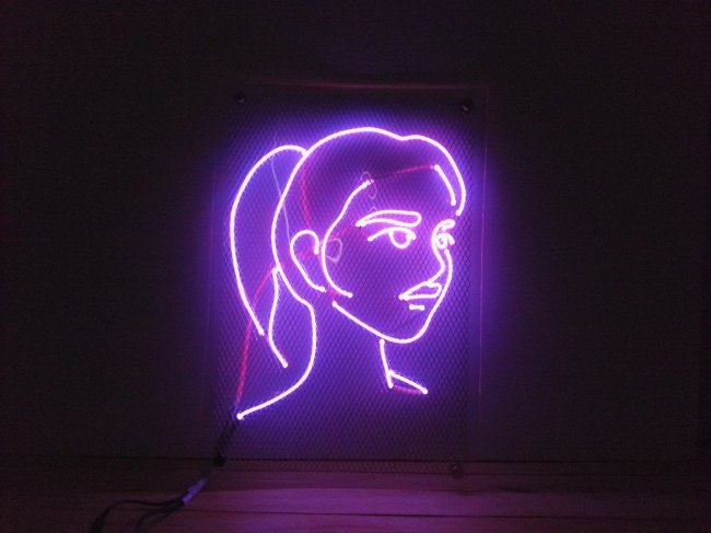 About 60 people sign up every month to create customized decorative electroluminescent lights. (Spantastic Place)
