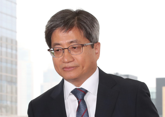 Supreme Court Chief Justice Kim Meong-su (Yonhap)