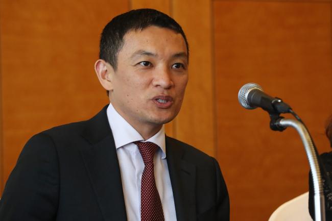 Christian de Guzman, vice president and senior credit officer at Moody's Investors Service. (Yonhap)