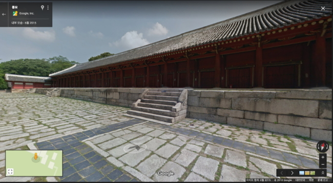 Digitally created image of Jongmyo (Google)