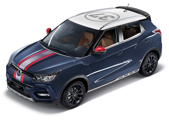 The second edition of SsangYong's Tivoli Armour Gear (SsangYong Motor)