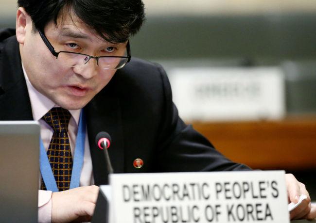 Ju Yong-chol (Reuters)