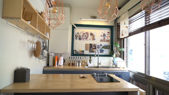 The interior of Huam Kitchen (By Lim Jeong-yeo / The Korea Herald)