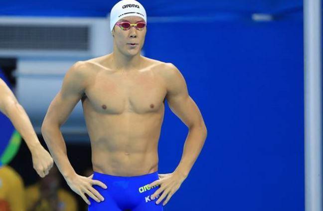 South Korea's top swimmer Park Tae-hwan. (Reuters)