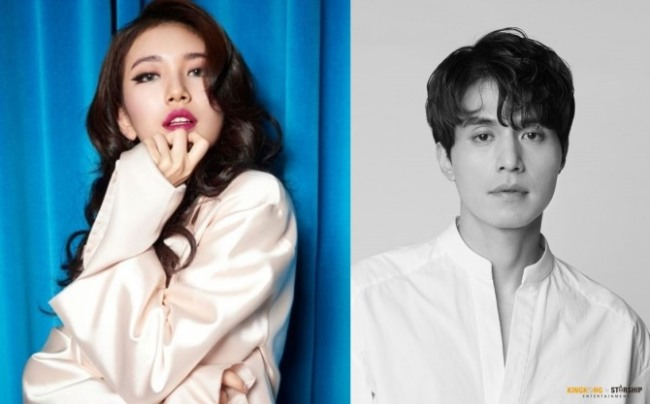 Suzy (left) and Lee Dong-wook (JYP Entertainment, Starship Entertainment)