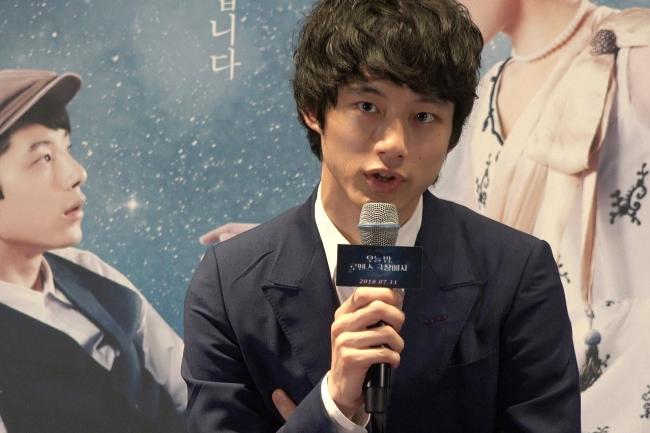 Kentaro Sakaguchi (Park Ju-young / The Korea Herald)