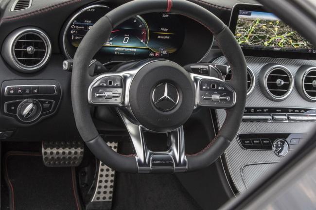 AMG steering wheel (Mercedes-Benz Korea)