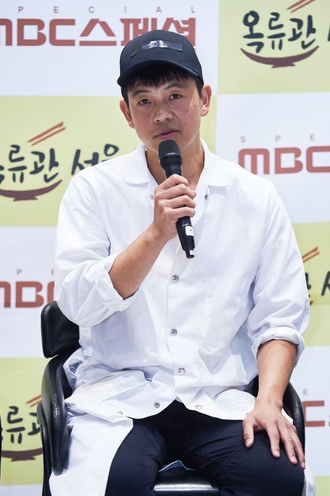 What does NK's Okryugwan naengmyeon taste like?