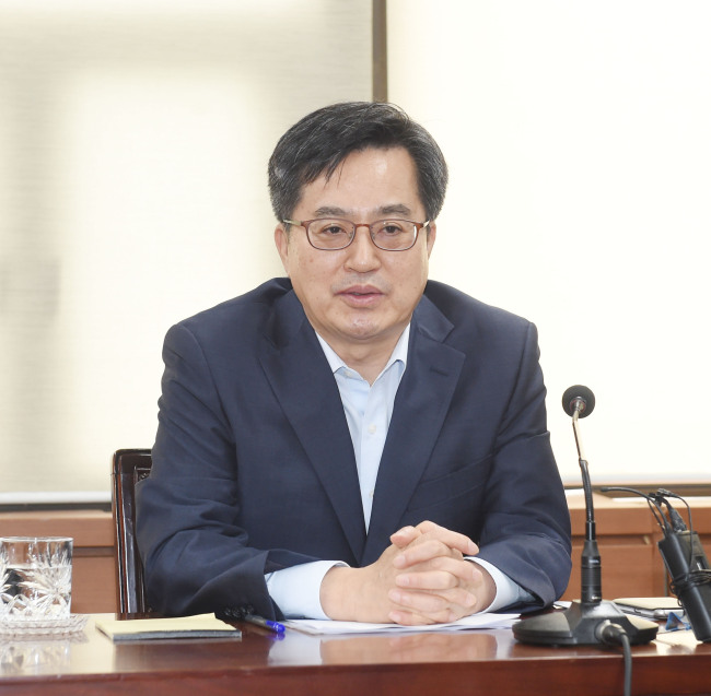 Deputy Prime Minister and Finance Minister Kim Dong-yeon (Ministry of Strategy and Finance)