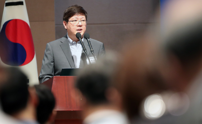 Kim Hong-gul, head of the Korean Council for Reconciliation and Cooperation. (Yonhap)