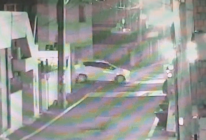 Surveillance footage shows a car, registered in the man`s name, leaving the house at 1:20 a.m. on March 21. (Yonhap)