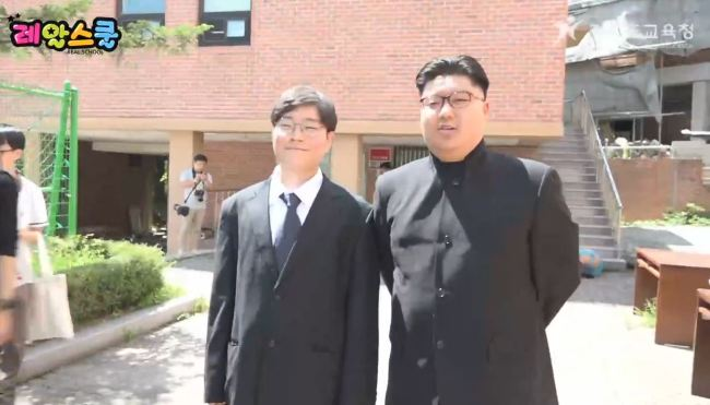 South Korean President Moon Jae-in and North Korean leader Kim Jong-un made a historic summit at Panmunjom in 2018.