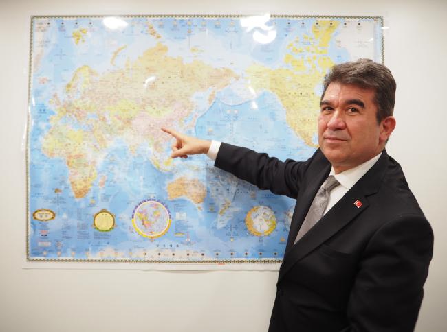 Turkish Ambassador to Korea Ersin Ercin (Joel Lee/The Korea Herald)