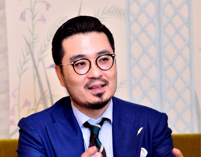 General Manager of L'Escape Kim Bum-soo (Park Hyun-koo / The Korea Herald)